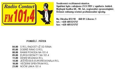 Web Contact Liberec
