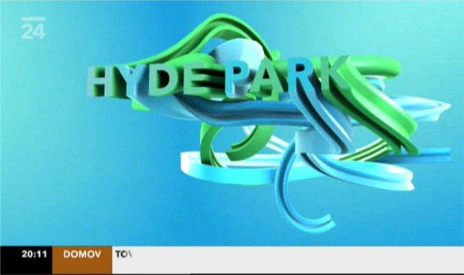 ČT24 znělka Hydepark