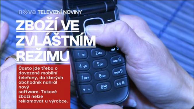 nova - televizní noviny - grafika 2011 - titulek