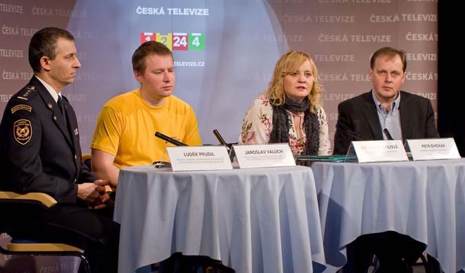 Tisková konference programu Krizová mapa