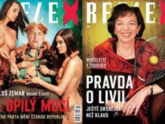 Týdeník Reflex pod vedením Pavla Šafra proslul kontroverzními obálkami