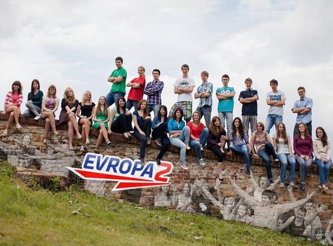 Fotografie jedné ze tříd v soutěži v roce 2013, foto: Rádio Evropa 2