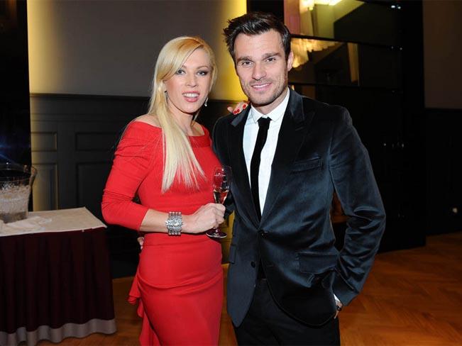 Majitelka licence Fashion TV Gabriela Drobová s Leošem Marešem