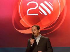 Generální ředitel TV Nova Christoph Mainusch na tiskové konferenci k 20. výročí televize Nova. Ilustrační foto: TV Nova