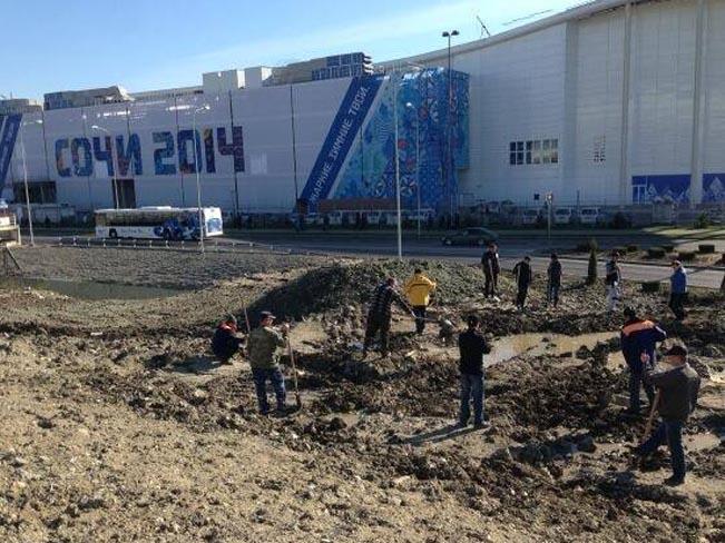 Poslední úpravy před otevřením her - 7. února 2014