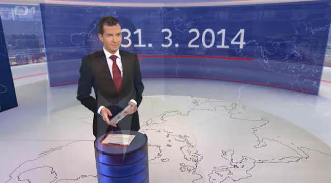 Úvodní vstup nových Událostí, reprofoto ČT / RadioTV.cz