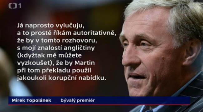 Ukázka citátu ve vysílání, reprofoto ČT / RadioTV.cz