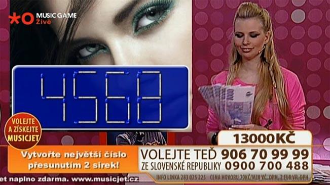 Noční hru se sirkami dlouhou dobu vysílala společně s Active TV i hudební televize Óčko. Foto: repro Óčko TV
