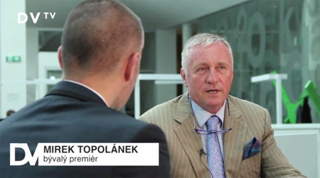 Martin Veselovský v rozhovoru s expremiérem Mirkem Topolánkem