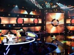Ukázka scény k licencovanému projektu Chart show. Archivní foto z roku 2014