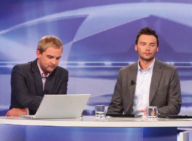 Libor Bouček je tváří studia UEFA Champions league na Prima COOL, foto: TV Prima