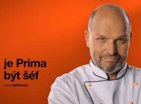 Zdeněk Pohlreich v ukázce nového vizuálu TV Prima