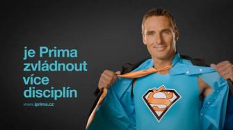 Roman Šebrle v kostýmu pro nový vizuál televize Prima
