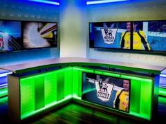 Studio Slovak Sportu v době, kdy vysílal anglickou Premier league, ilustrační foto - Slovak Sport TV