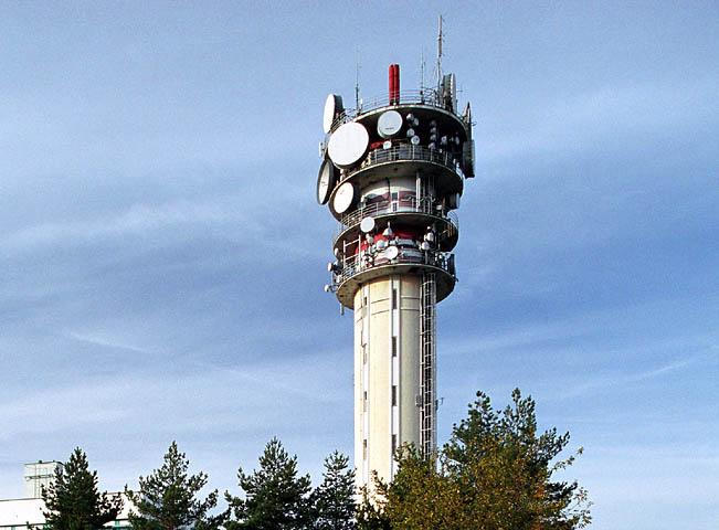 Vysílač Praha-Strahov, foto: České Radiokomunikace