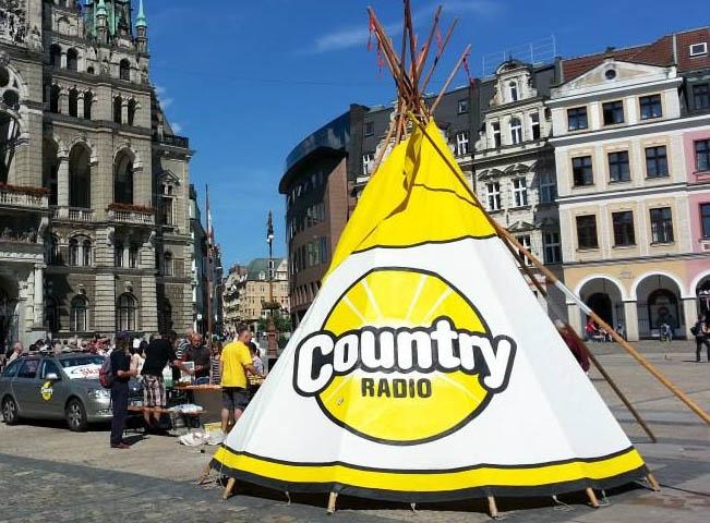 Promoakce Country rádia v regionech, ilustrační foto Country rádio