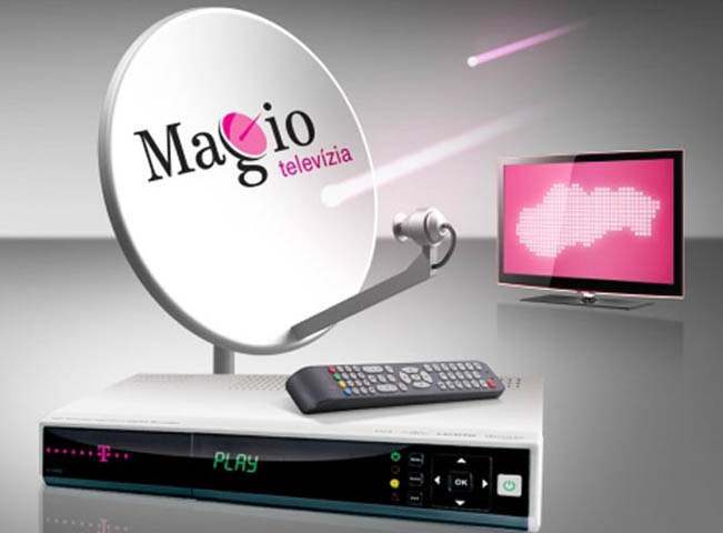 Platforma Magio Sat spolupracuje i s českými satelitními operátory, foto: PR Slovak Telekom