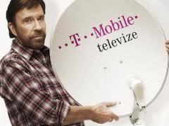 Placenou televizi od společnosti T-Mobile v České republice propagoval i herec Chuck Norris. Archivní foto