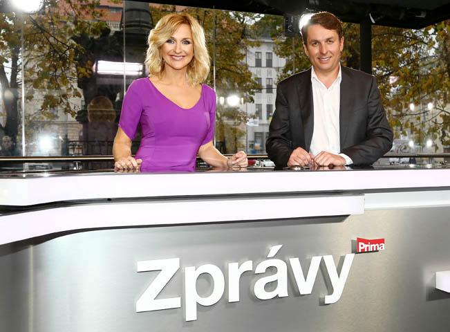 Terezie Kašparovská a Jiří Hauptvogel, foto: archiv FTV Prima