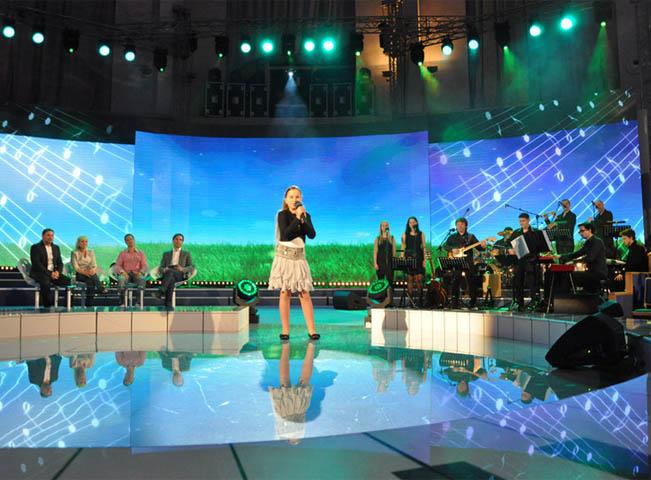 Ukázka scény k pořadu Zpívá celá rodina, foto: Česká televize