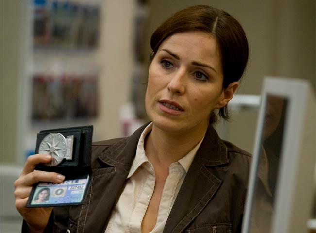 Soňa Norisová alias Jana Vinická v hlavní roli seriálu Policie Modrava, foto TV Nova