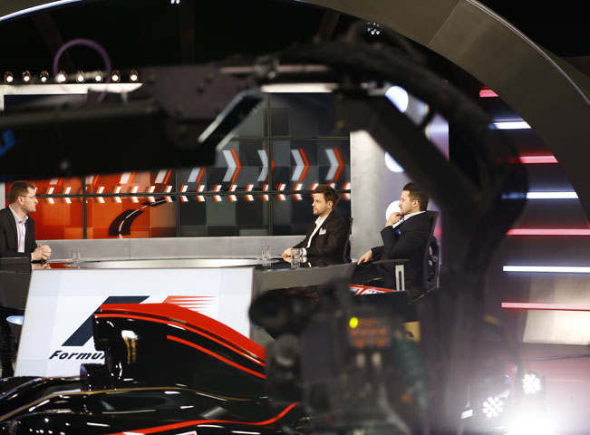 Studio Formule 1 na Sport1 HD a Sport2 HD, foto: AMC Networks International Central Europe