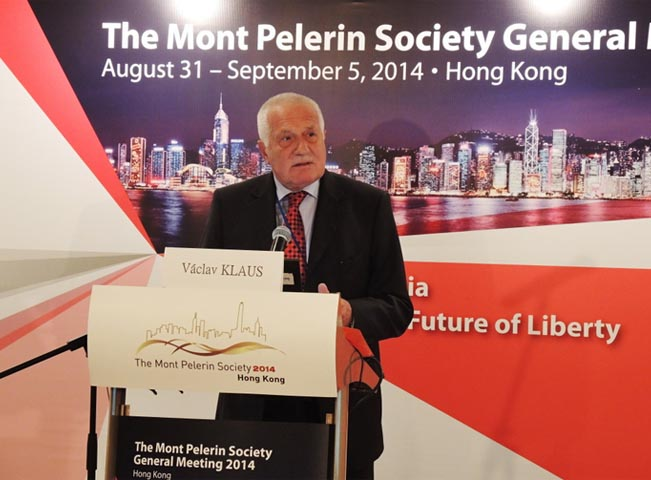 Václav Klaus na návštěvě Hong Kongu, foto: oficiální web Klaus.cz