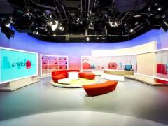 Nové multifunkční studio TV Nova, odkud se bude vysílat pořad Snídaně s Novou, foto: TV Nova