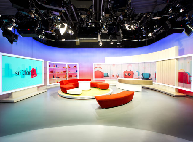 Multimedialni studio - foto TV Nova