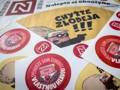 Samolepková příloha slovenského Deníku N