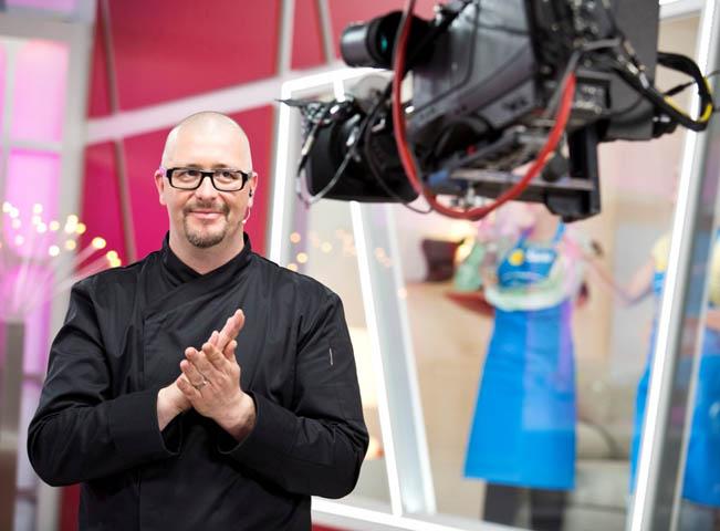 Jaroslav Žídek v novém pořadu Nejlíp vaří moje máma, foto: TV Nova