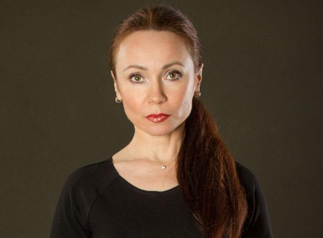 Pavlína Kafková v roli soudkyně Barbary, foto: TV Barrandov