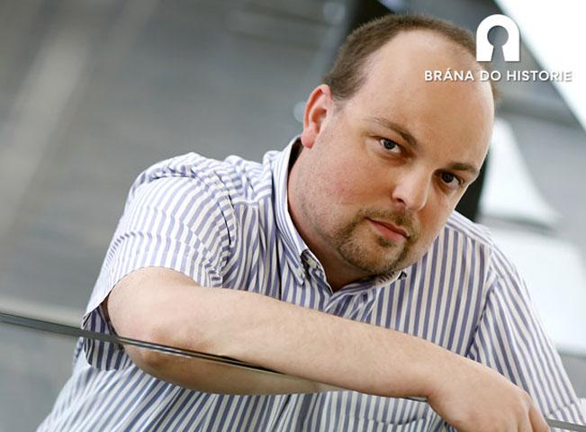 Jakub Vrána, autor minipořadu Brána do historie, foto TV Nova