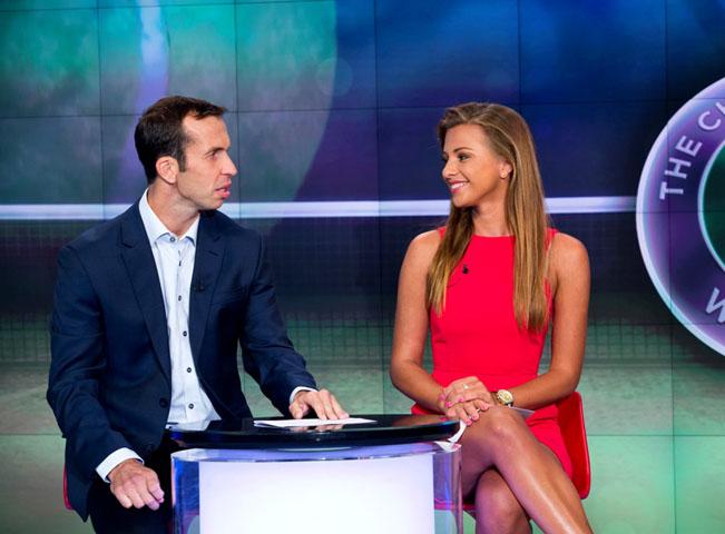 Inna Puhajková a Radek Štěpánek, foto: archiv TV Nova
