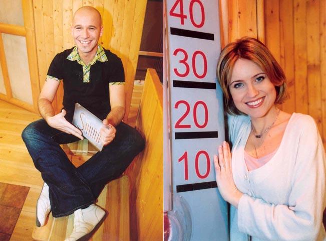 Moderátoři pořadu Sauna, foto: archiv TV Prima