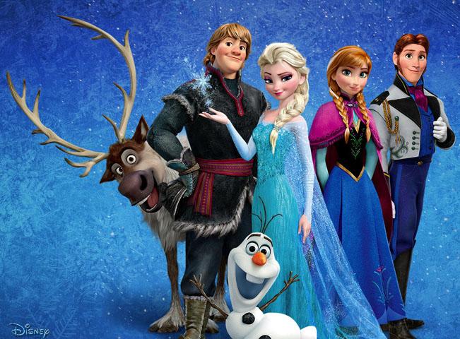 Plakát k filmu Ledové království
