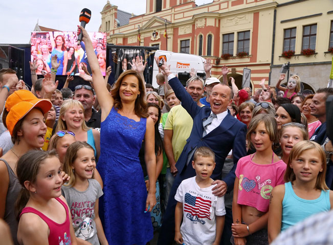 Atmosféra v Mělníku, foto: FTV Prima