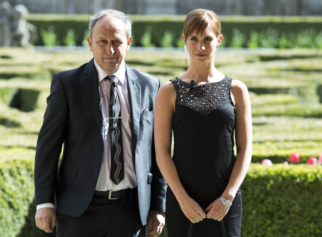 Hana Vagnerová a Jan Kraus, foto: archiv TV Nova