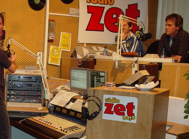 Studio někdejšího Rádia ZET v Žiliné. Archivní fotografie, zdroj: Radia.sk