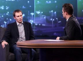 Jiří Vejdělek v Show Leoše Mareše, foto: TV Prima / Mňam TV