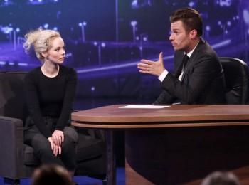 Anna Linhartová byla prvním hostem v Show Leoše Mareše, foto: TV Prima / Mňam TV