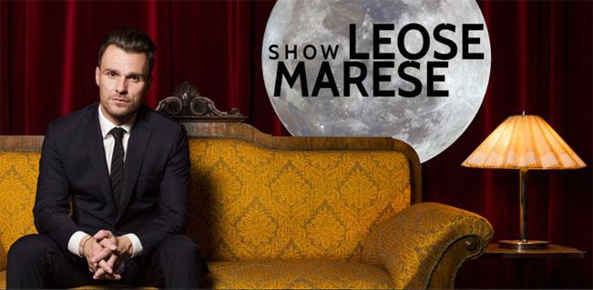 Leoš Mareš ve své noční show, zdroj foto: Facebook page Show Leoše Mareše