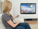 Chytrá televize přináší divákům nové možnosti. Ilustrační foto, fotobanka Shutterstock.com