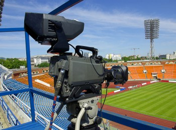 Sportovní televize. Ilustrační foto - fotobanka Shutterstock