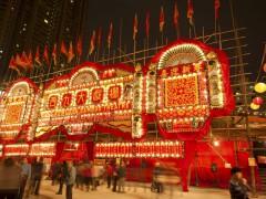 West Kowloon Bamboo Theatre v Hong Kongu, ilustrační foto: Lee Yiu Tung / Shutterstock.com