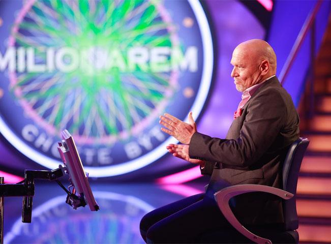 Marek Vašut v soutěži Chcete být milionářem, foto: TV Nova