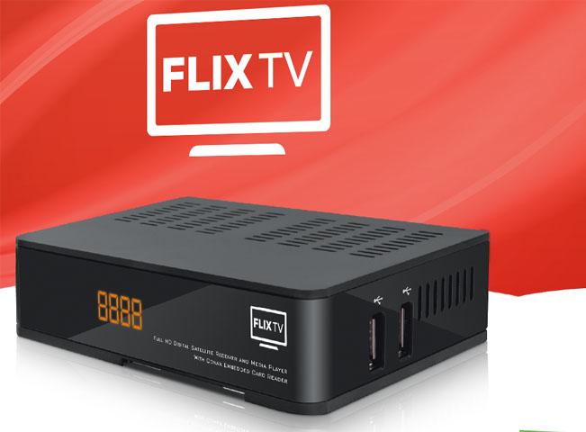 Prezentační plakát služby FLIX TV