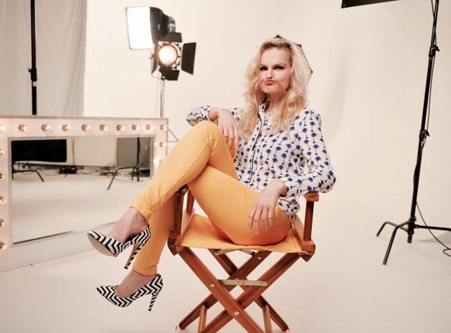 Iva Pazderková v pořadu Comedy Club, foto: Prima Comedy Central