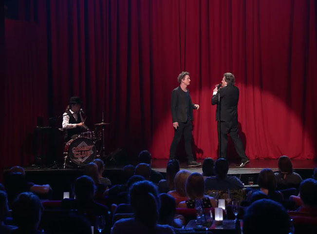 Duel v pořadu Comedy Club. Foto: Viacom International Media Networks