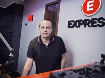 Filip Žemlička, programový ředitel rádia Expres FM. Foto: Jana Kusalová
